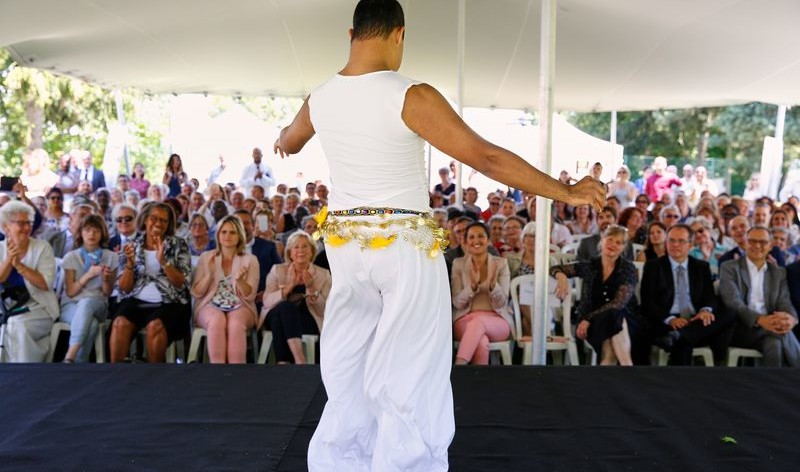 Les danseurs de la Compagnie Etoile d'Orient du Foyer Saint-Louis