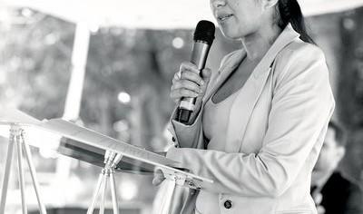 Farida Adlani, vice-présidente du conseil régional d'Ile-de-France