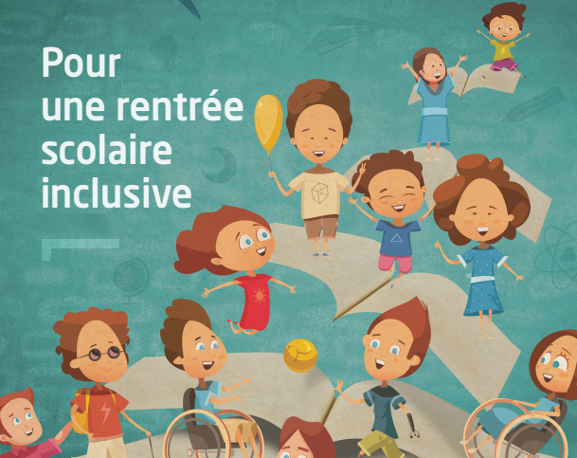 illustration inclusion scolaire