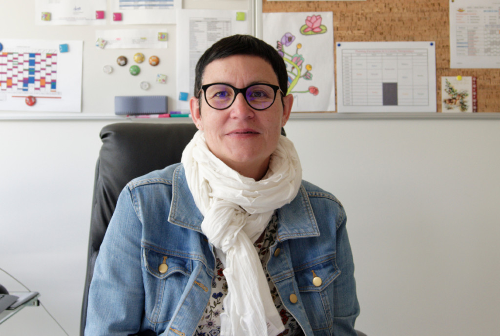 Christine Manadi, directrice IME de Soubiran