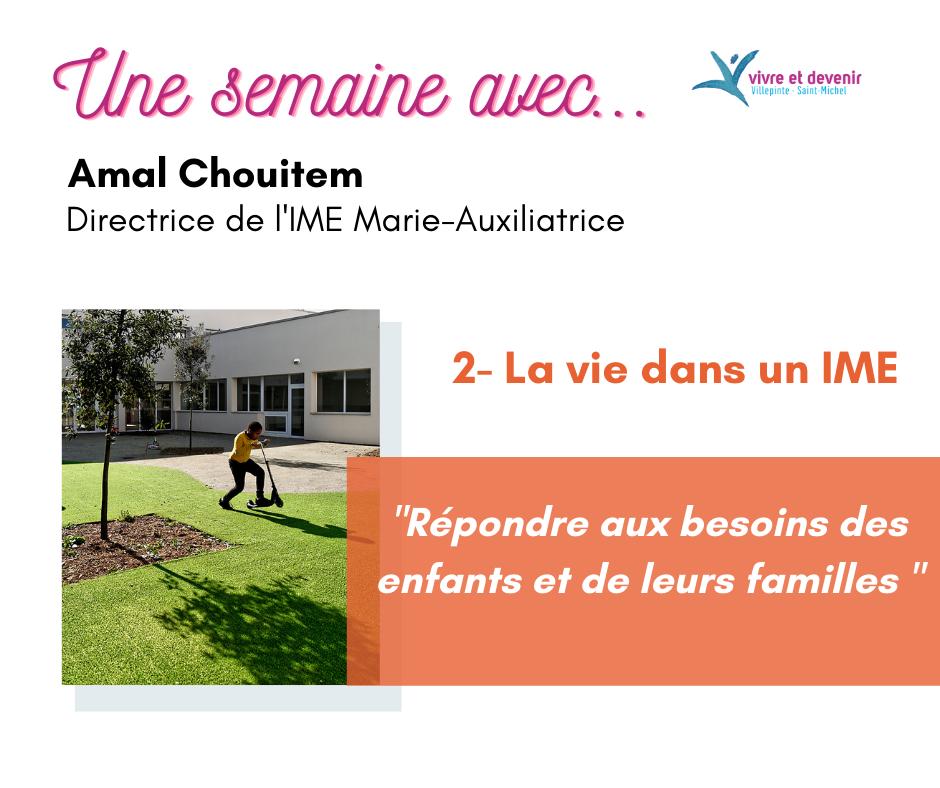 Photo de couverture une semaine avec Amal Chouitem, la vie dans un IME
