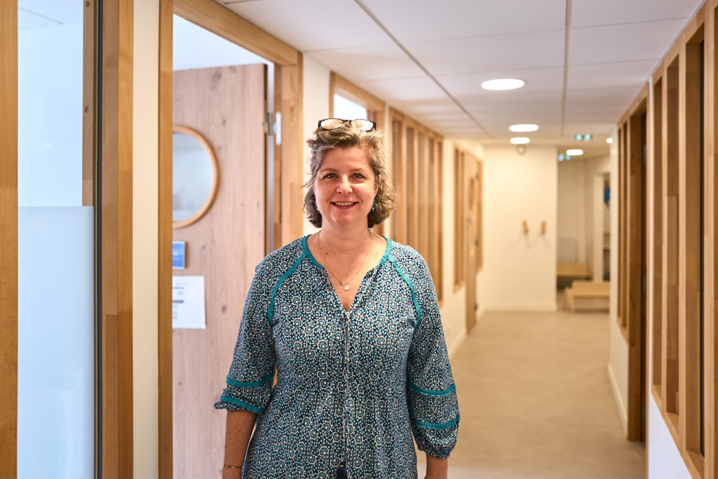 Géraldine Mazin, adjointe à la directrice Pôle autisme Paris
