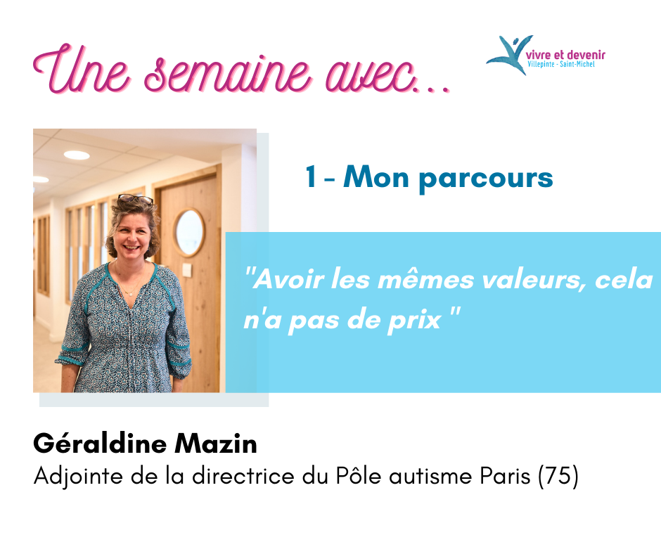 Visuel de présentation de l'article avec l'adjointe de la directrice du Pôle autisme Paris