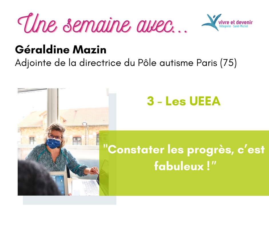 Visuel d'article avec l'adjointe de la directrice du Pôle autisme Paris